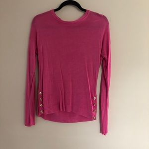 EUC size M pink lightweight sweater Forever21